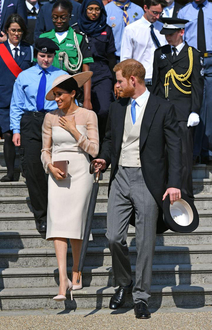 """Meghan Markle is now """"Her Royal Highness."""""""