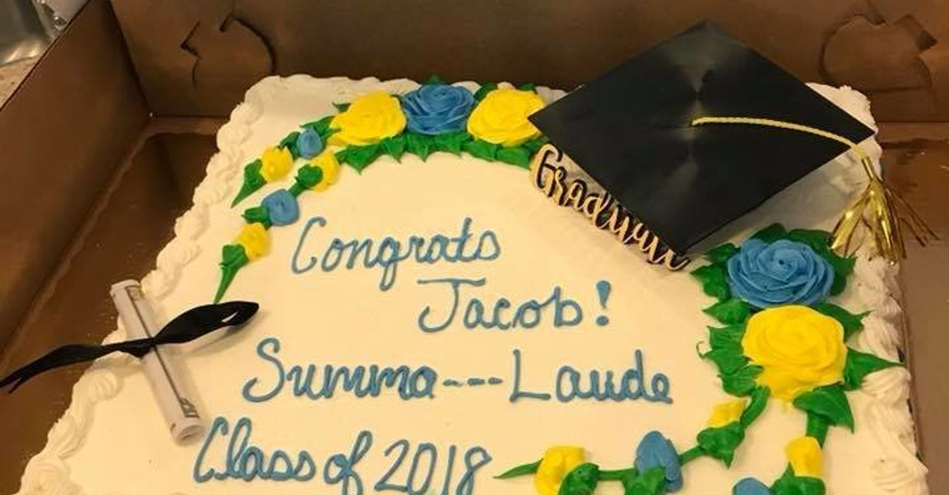 Publix Censors Teens Summa Cum Laude Graduation Cake Huffpost