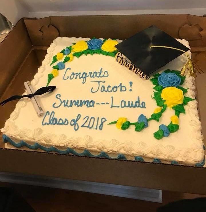 Publix Censors Teens Summa Cum Laude Graduation Cake