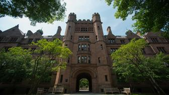 Vanderbilt Hall stands on the Yale University campus in New Haven, Connecticut, U.S., on Friday, June 12, 2015. Yale University is an educational institute that offers undergraduate degree programs in art, law, engineering, medicine, and nursing as well as graduate level programs. Photographer: Craig Warga/Bloomberg via Getty Images