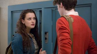 Katherine Langford and Devin Druid on 13 Reasons Why
