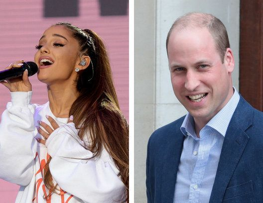 Ariana Grande and Prince William remembered the victims of last years Manchester bombing