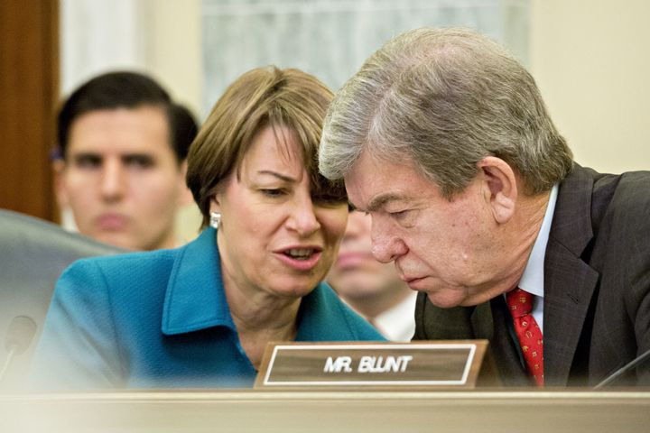 It took months, but Sens. Amy Klobuchar (D-Minn.) and Roy Blunt (R-Mo.) have hashed out a deal to require lawmakers to pay ou