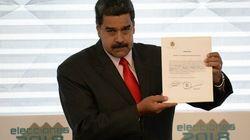 Maduro réplique à Trump et expulse ses représentants au