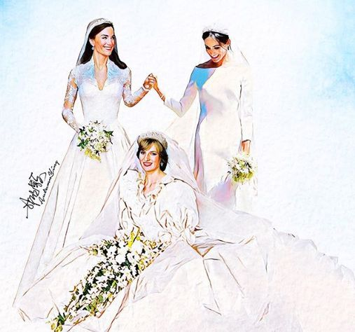 23 Gorgeous Illustrations To Help You Relive The Royal