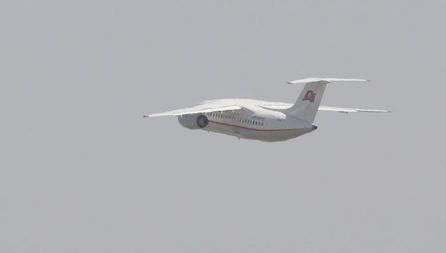 22일 오전 4개국 외신을 태운 고려항공 전용기가 중국 베이징 서우두 공항을 출발해 북한 원산 갈마비행장으로 향하고