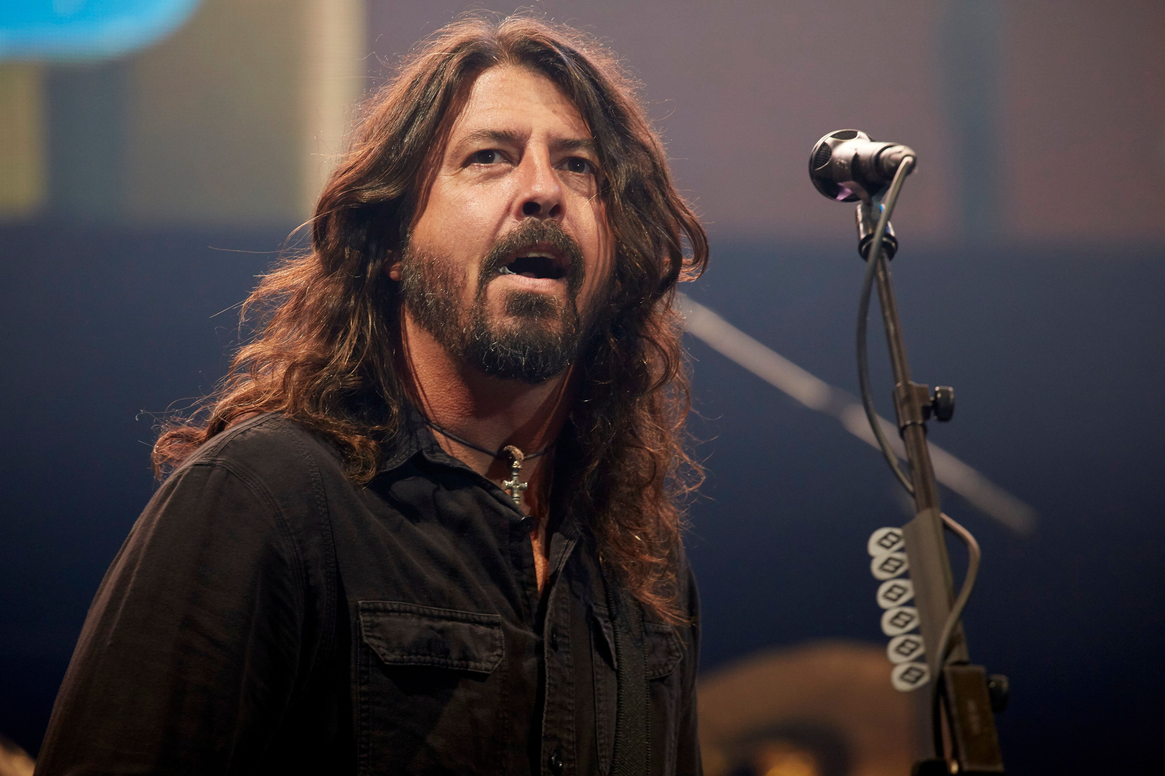 Dave Grohl of the Foo Fighters said he's ashamed of President Trump.