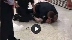Άνδρας πεθαίνει από αστυνομικούς σε σουπερμάρκετ μπροστά στα μάτια πελατών
