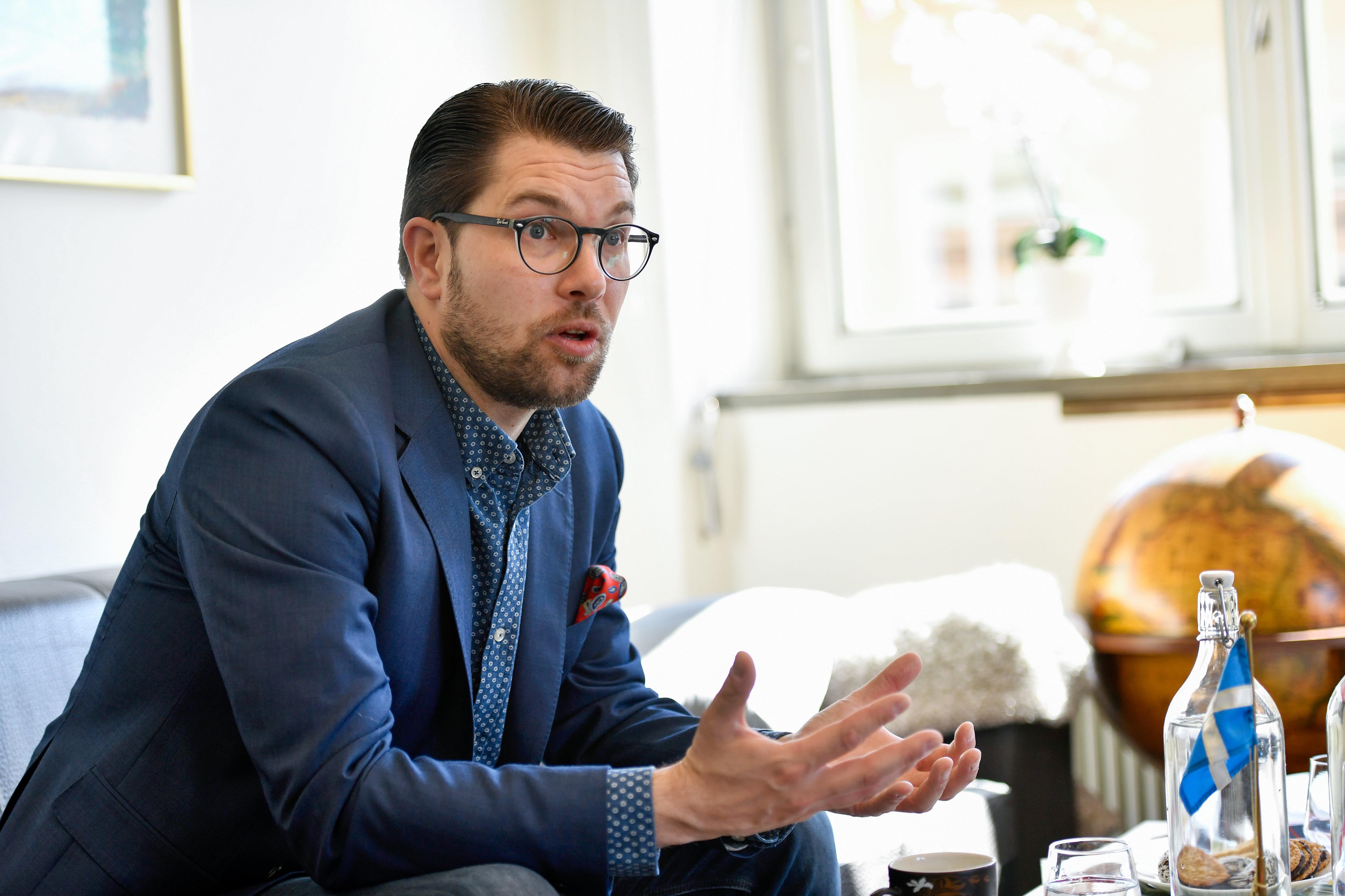Το αντιμεταναστευτικό κόμμα των Σουηδών Δημοκρατών καταγράφει ποσοστό