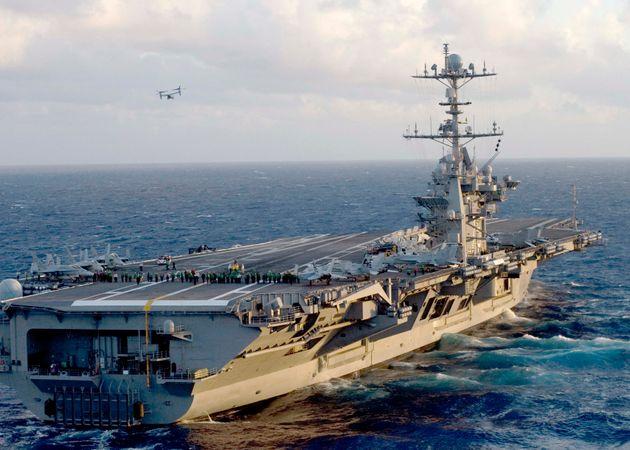 Στη ναυτική βάση Σούδας κατέπλευσε το αμερικανικό αεροπλανοφόρο «Χάρι