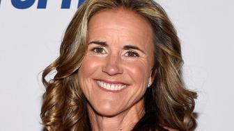 LAS VEGAS, NV - APRIL 20:  Broadcaster and former soccer player Brandi Chastain attends the 2017 Derek Jeter Celebrity Invitational gala at the Aria Resort & Casino on April 20, 2017 in Las Vegas, Nevada.  (Photo by David Becker/Getty Images)