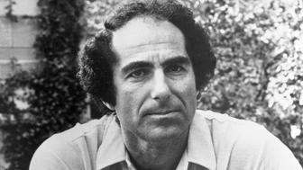 (Original Caption) Philip Roth, author. Seated and wearing sport shirt.