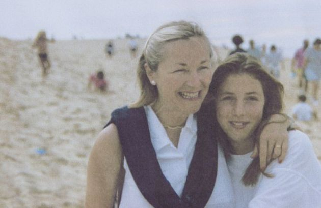 Georgie Fuller (right) with her mum Maggie