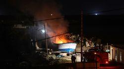Des avions israéliens frappent un bateau amarré au large de