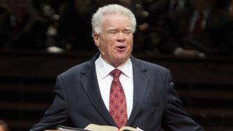 Paige Patterson on December 1, 2011. According to a Washington Post story, a woman claims Patterson previously encouraged her not to report a rape to police and told her to forgive the man who allegedly raped her after she invited him into her apartment. (Joyce Marshall/Fort Worth Star-Telegram/TNS via Getty Images)
