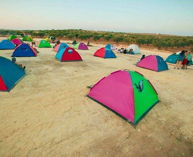 Guest House « Tente pour deux personnes