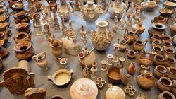 Κατασχέθηκαν σάκοι με αρχαιότητες σε υπόθεση αρχαιοκαπηλίας στην