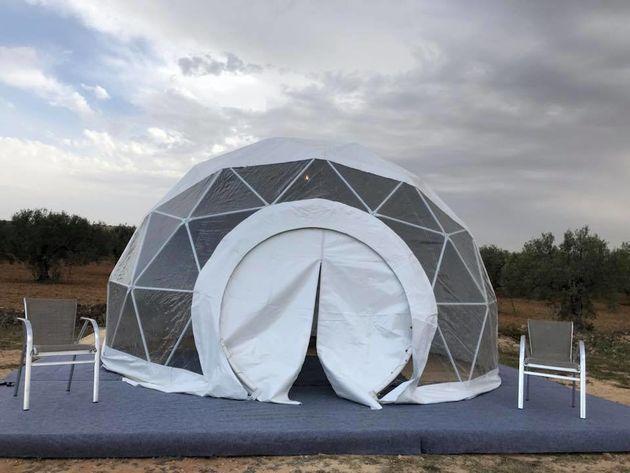 Wild Goes Luxury « Tente Dome pour 2-3 personnes