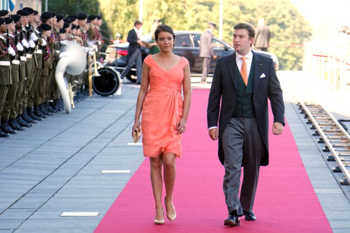 O πρίγκιπας Sebastian μαζί με τη μεγαλύτερη αδελφή του, την πριγκίπισσα Alexandra.