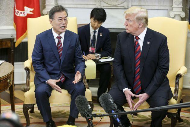 트럼프가 김정은과의 북미정상회담을 전격 취소했다
