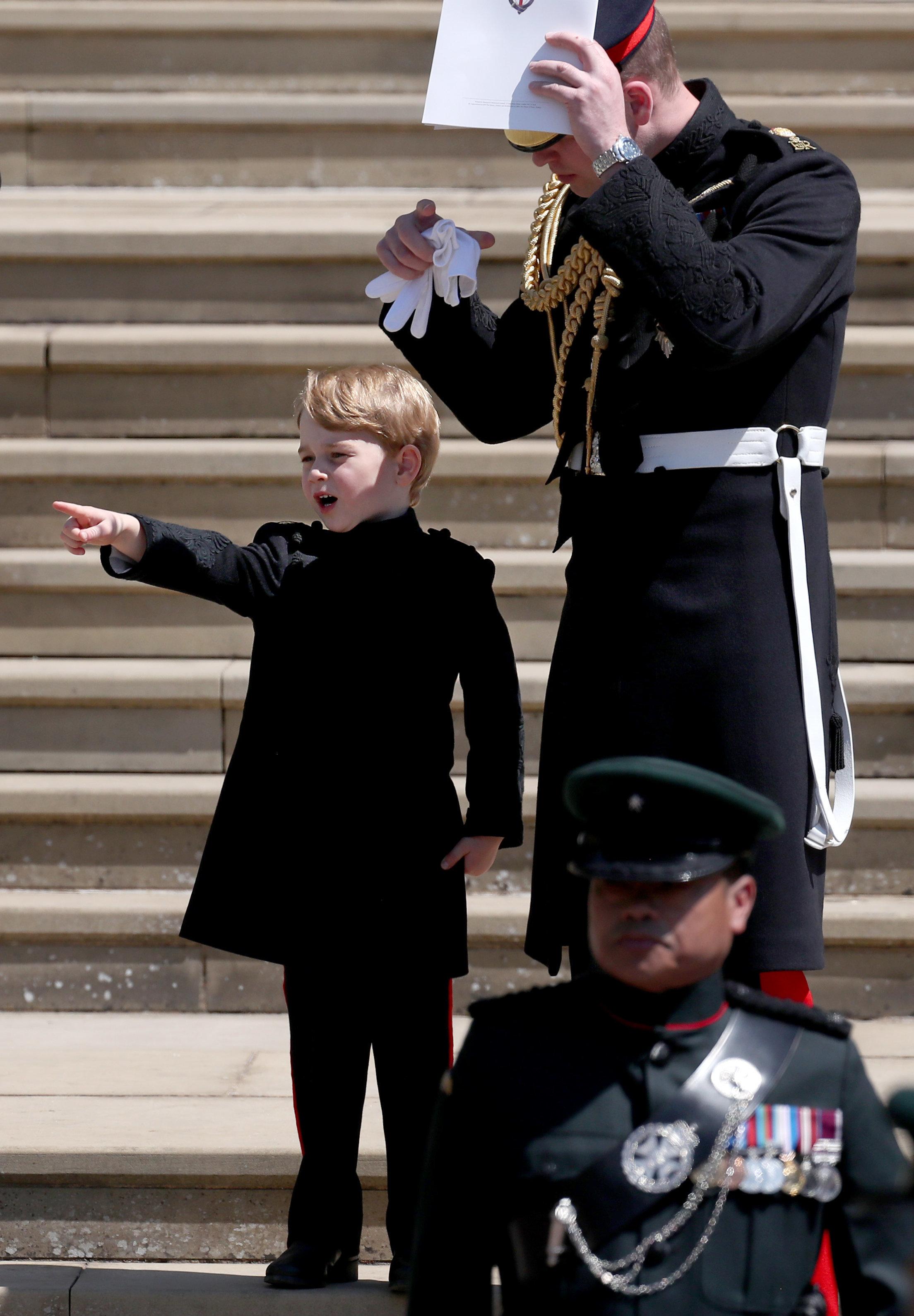 Bei Meghans und Harrys Hochzeit: Prinz George hat eine alte Tradition