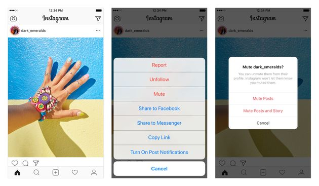 Instagram Now Lets You Mute