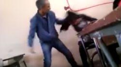 Le professeur qui a tabassé une élève à Khouribga soutenu par les