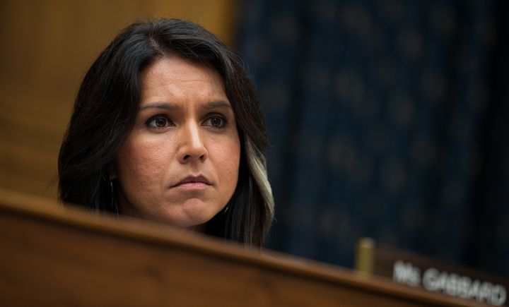Rep. Tulsi Gabbard (D-Hawaii) has alienated some Democrats with her comments about Syrian President Bashar Assad.