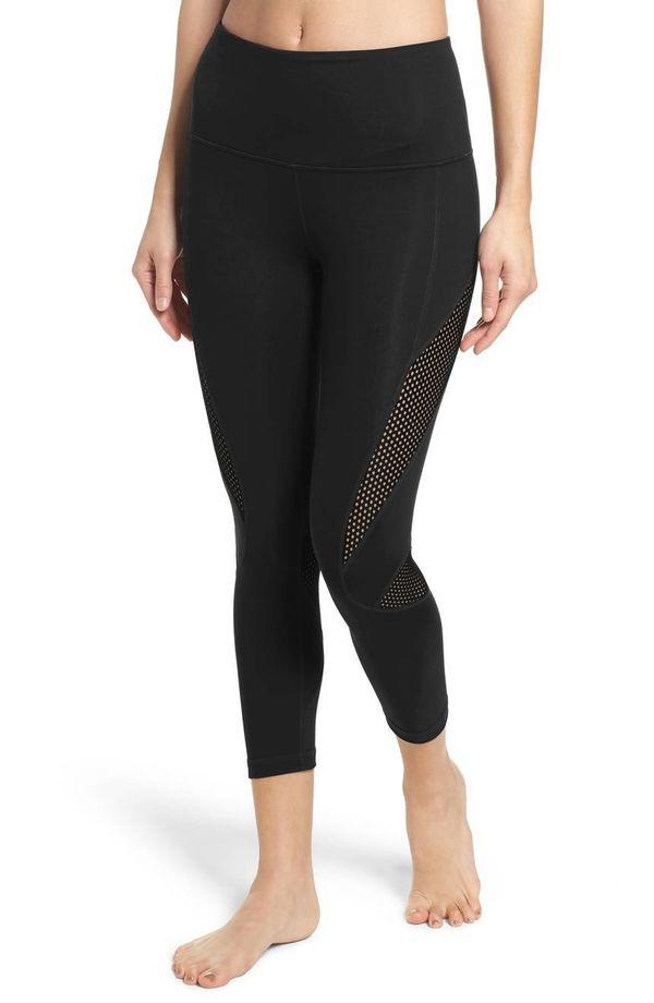"Was: $55.00<br><strong><a href=""https://shop.nordstrom.com/s/zella-high-waist-crop-leggings/4606496?origin=category-personali"