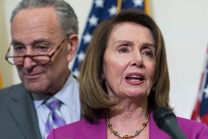Sen. Chuck Schumer and Rep. Nancy Pelosi said the Justice Department shouldn't be sharing sensitive documents only with