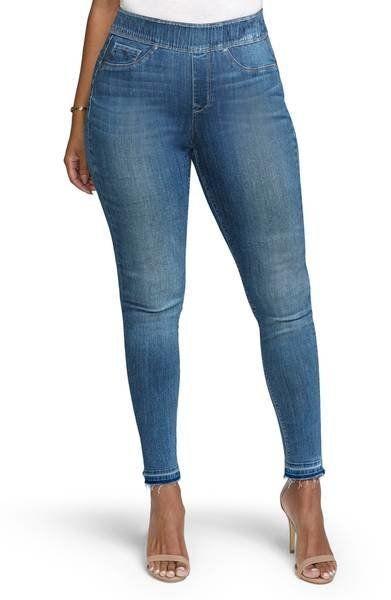 "Was: $119<br><strong><a href=""https://shop.nordstrom.com/s/curves-360-by-nydj-sculpted-denim-leggings-albany/4929214?origin=c"