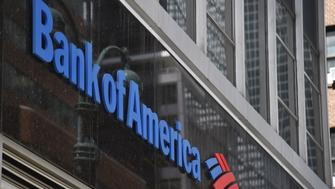 A sign for Bank of America is seen on 3rd Avenue in New York City, on May 11, 2018. (Photo by HECTOR RETAMAL / AFP)        (Photo credit should read HECTOR RETAMAL/AFP/Getty Images)