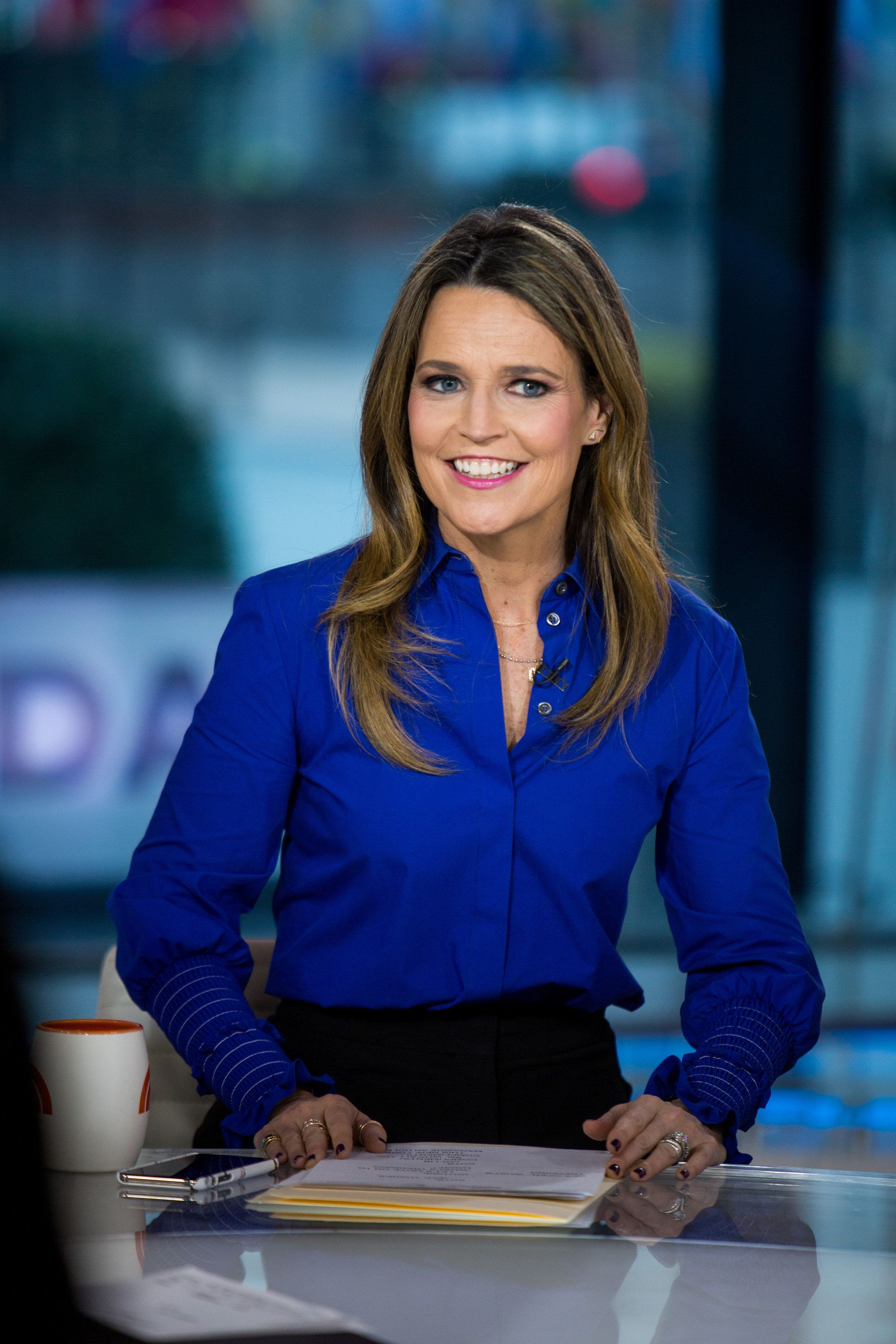 TODAY -- Pictured: Savannah Guthrie on Thursday, Jan. 18, 2018 -- (Photo by: Nathan Congleton/NBC/NBCU Photo Bank via Getty Images)