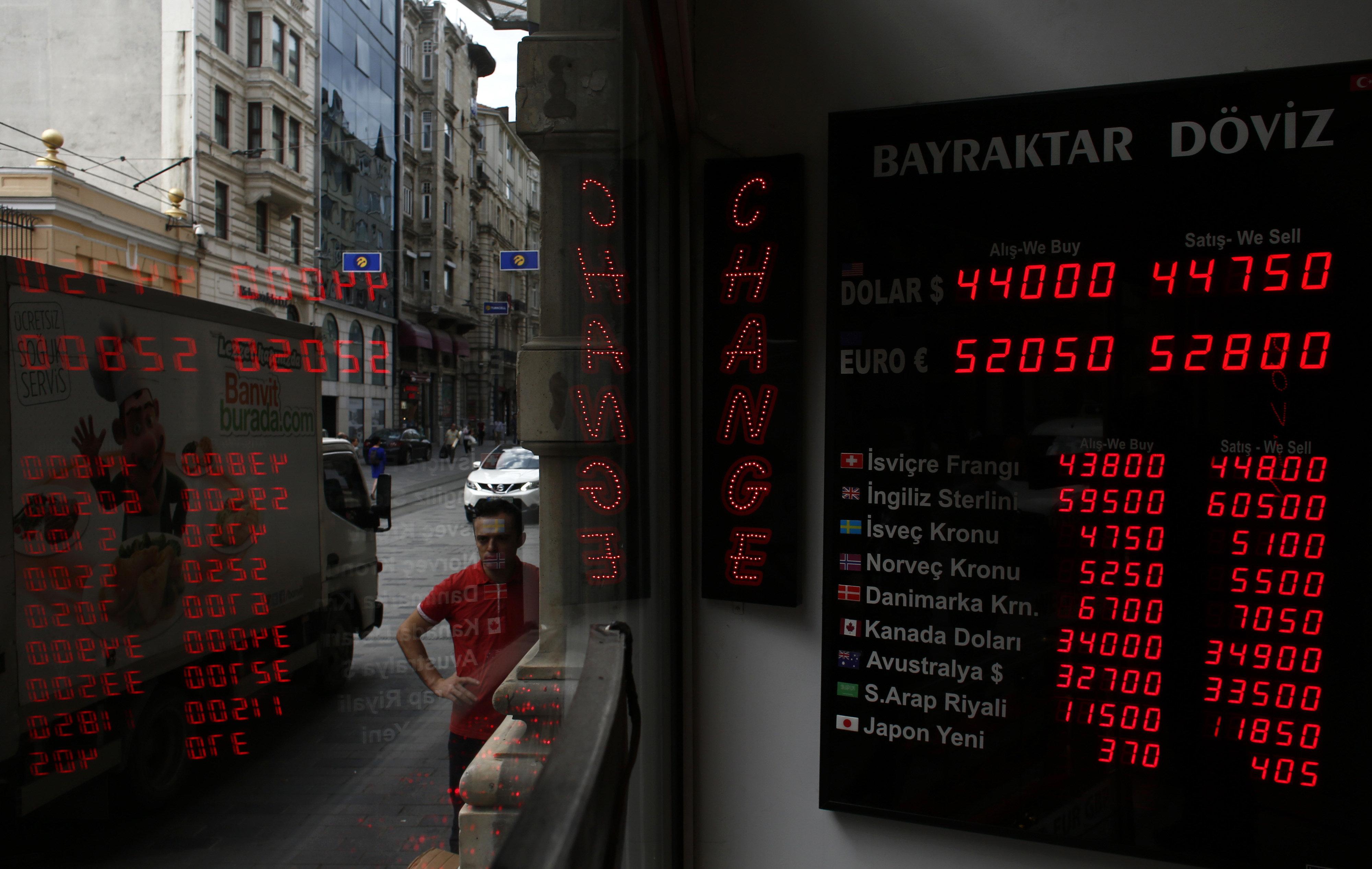 Οι κινήσεις της κεντρικής τράπεζας της Τουρκίας για να ανακόψει τη μεγάλη πτώση της λίρας και οι ψίθυροι για capital