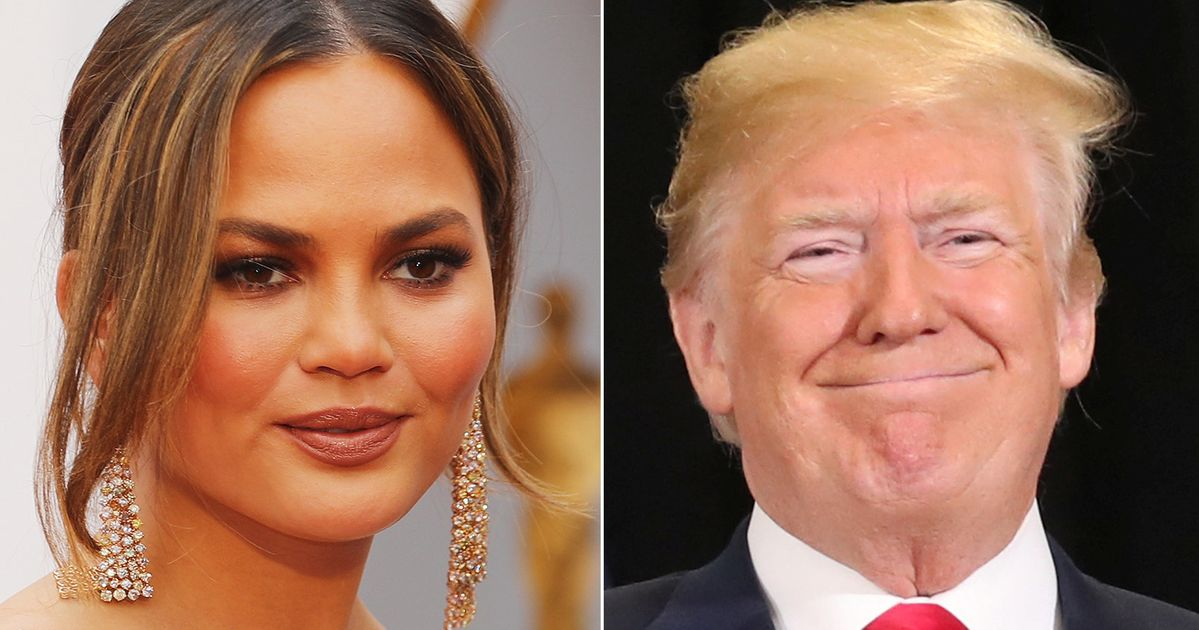 Chrissy Teigen Gives Trump NSFW Nickname After Latest Presidential Meltdown