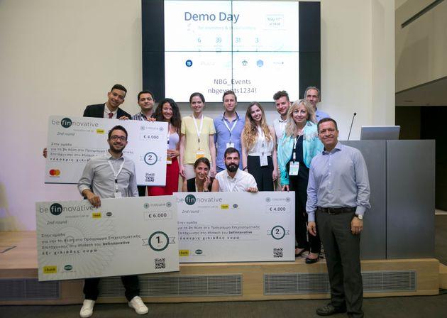 Demo Day του 2ου κύκλου του Προγράμματος be finnovative της Εθνικής