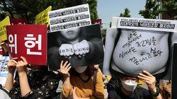 26장의 사진으로 보는 '낙태죄 공개변론' 헌법재판소