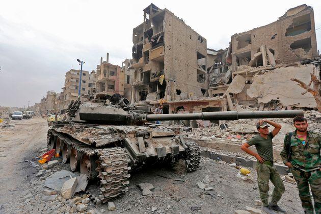 Συρία: Τουλάχιστον 12 νεκροί άνδρες των φιλοκυβερνητικών δυνάμεων σε πλήγμα του διεθνούς συνασπισμού...