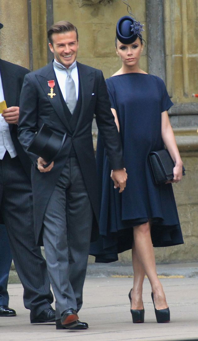 David and Victoria at the 2011 royal