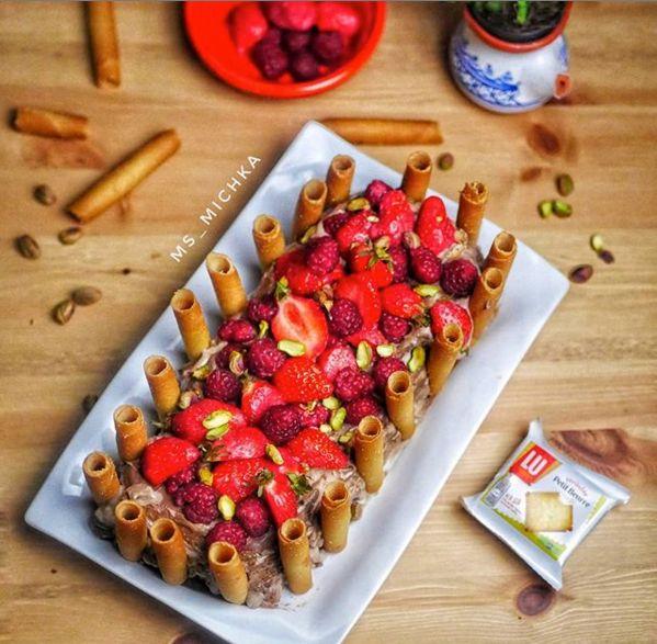 Découvrez le gâteau courant d'air tunisien revisité de Michka
