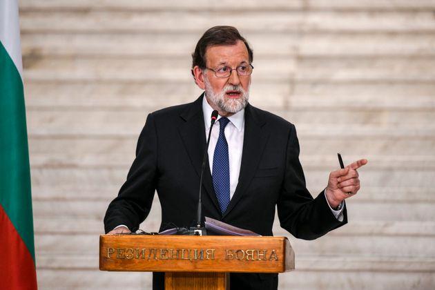 Le premier ministre espagnol Mariano Rajoy, le 15 mai