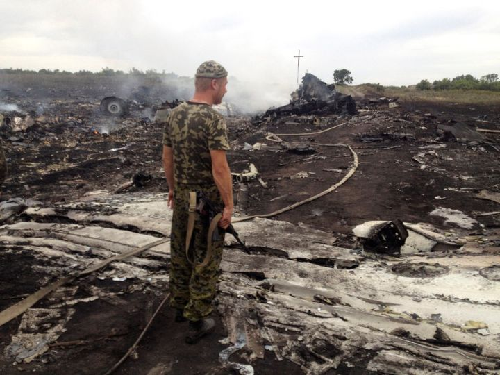 It's not clear who was operating the Russian-made missile that hit the plane over eastern Ukraine in 2014.