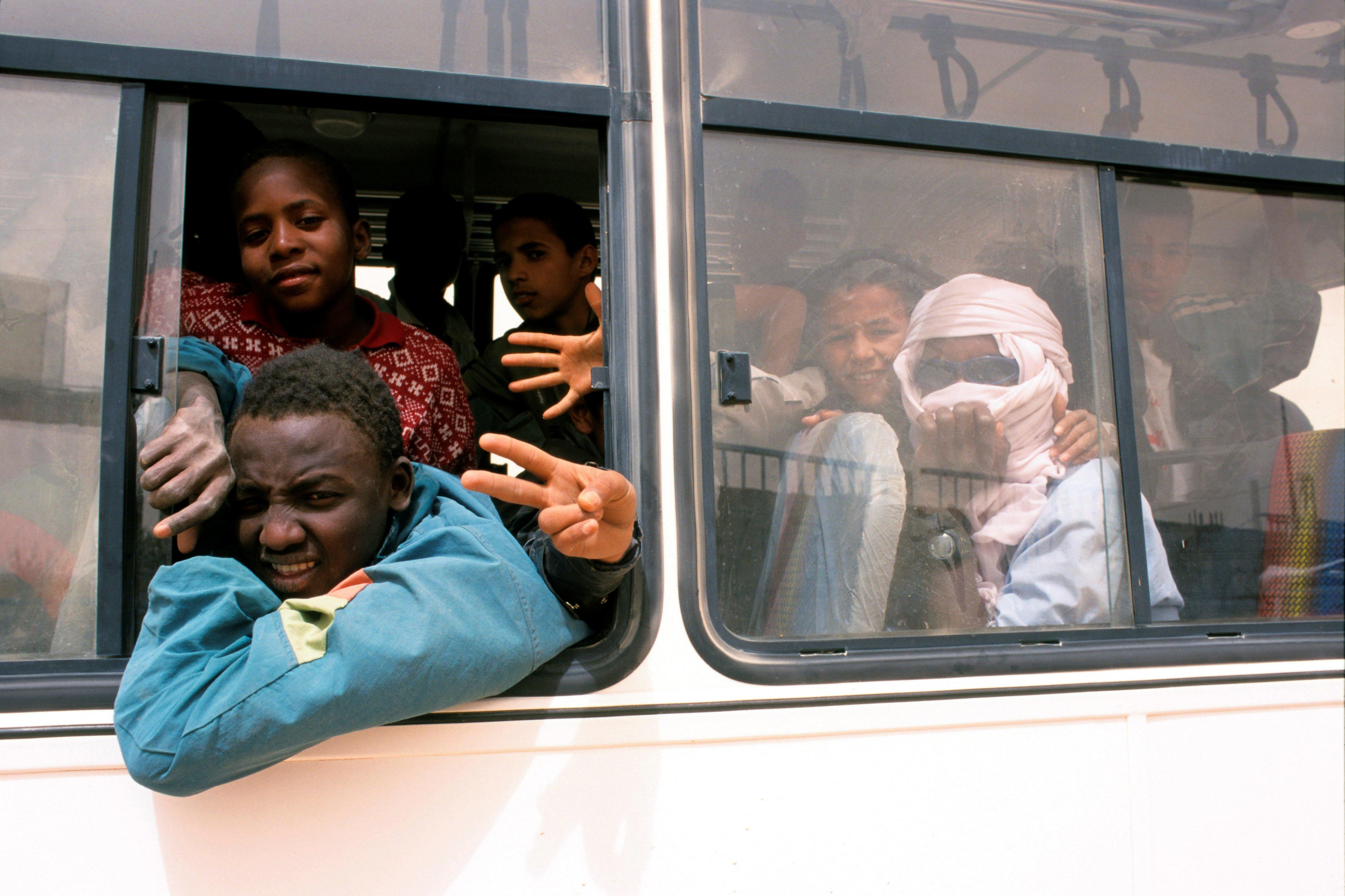 Une délégation venue du Mali pour rencontrer les migrants à