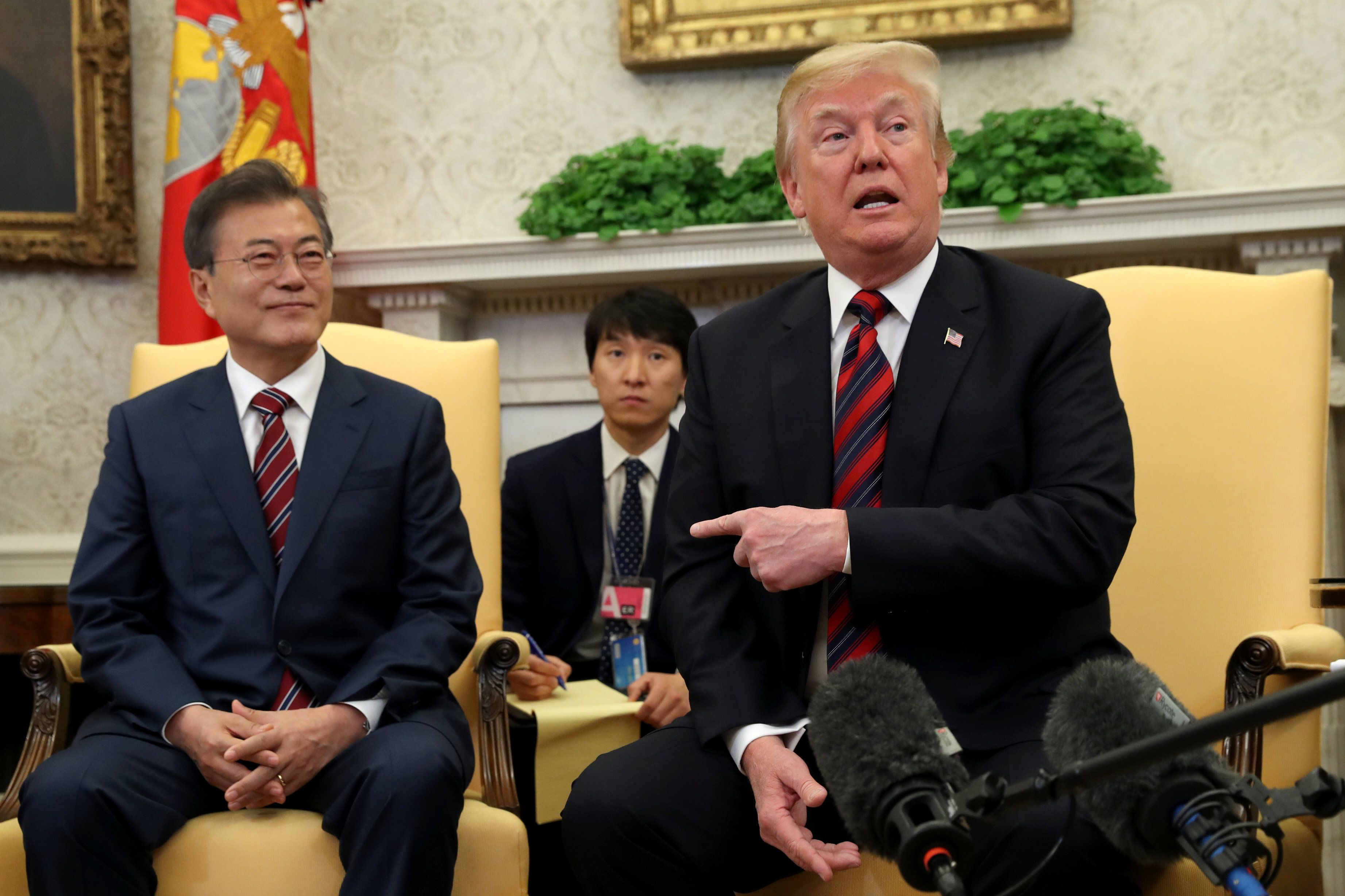 South Korea Responds To Trump's Sudden Cancelation Of Kim Jong Un