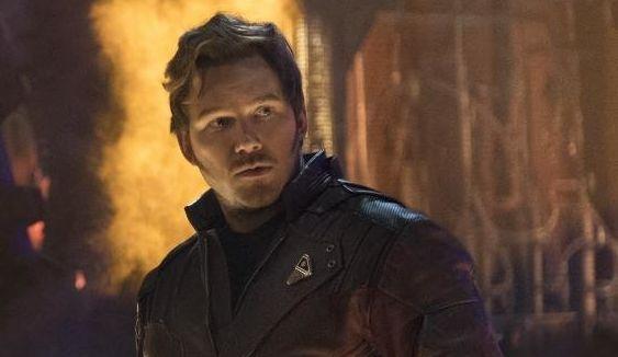 "Chris Pratt as Star-Lord in ""Avengers: Infinity War."""