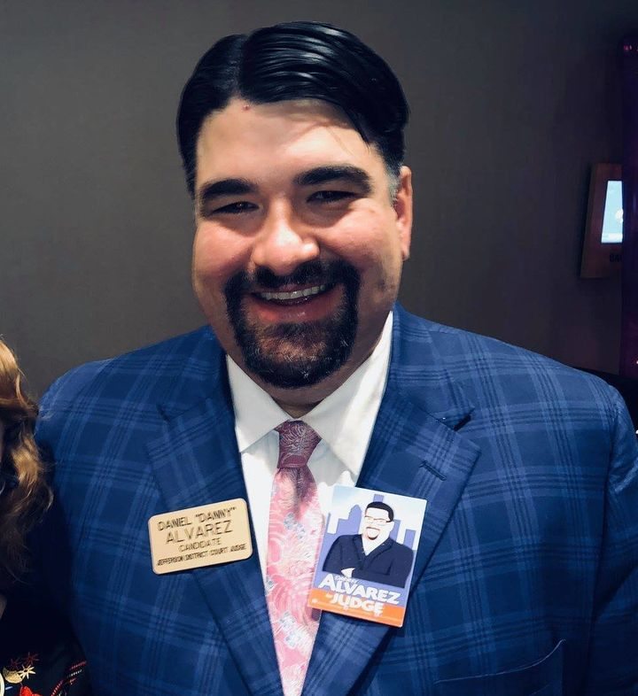 Danny Alvarez, who was running for Jefferson County District Court judge in Kentucky, died on Wednesday after a primary victo