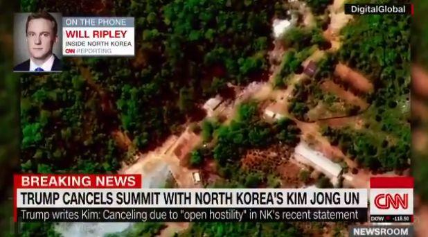 CNN 기자가 전한 '북한 관계자들의 실시간 반응'(영상)