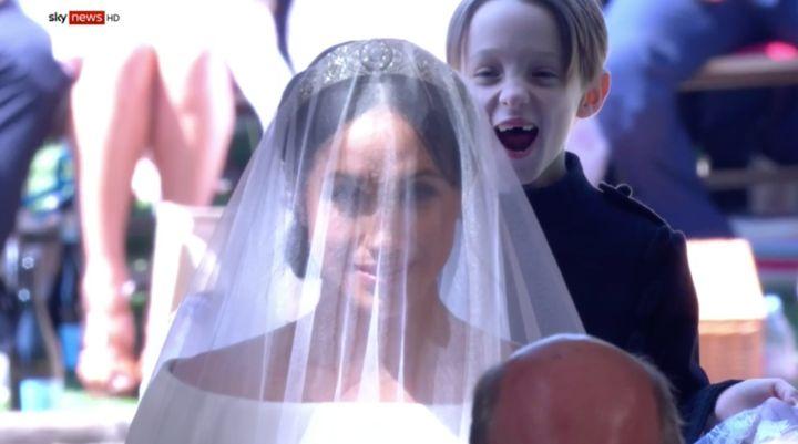 La historia tras la foto más viral de la boda de Meghan Markle y el príncipe