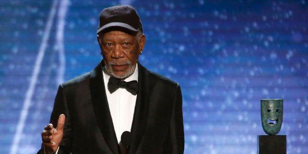 Morgan Freeman sera la voix des transports en commun