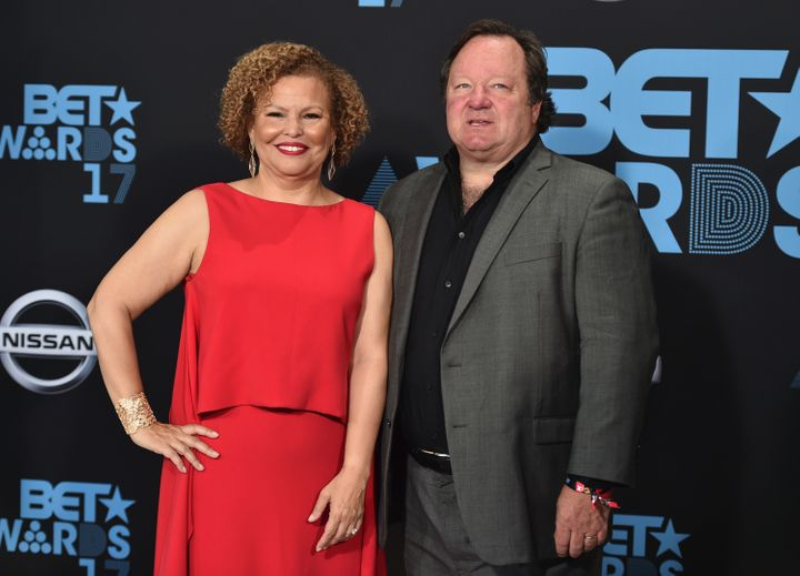 Debra Lee, chairman and chief executive of BET Networks, and Bob Bakish, president and chief executive of Viacom, BET's paren